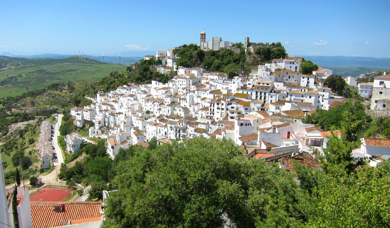 Most beautiful towns in the malaga province