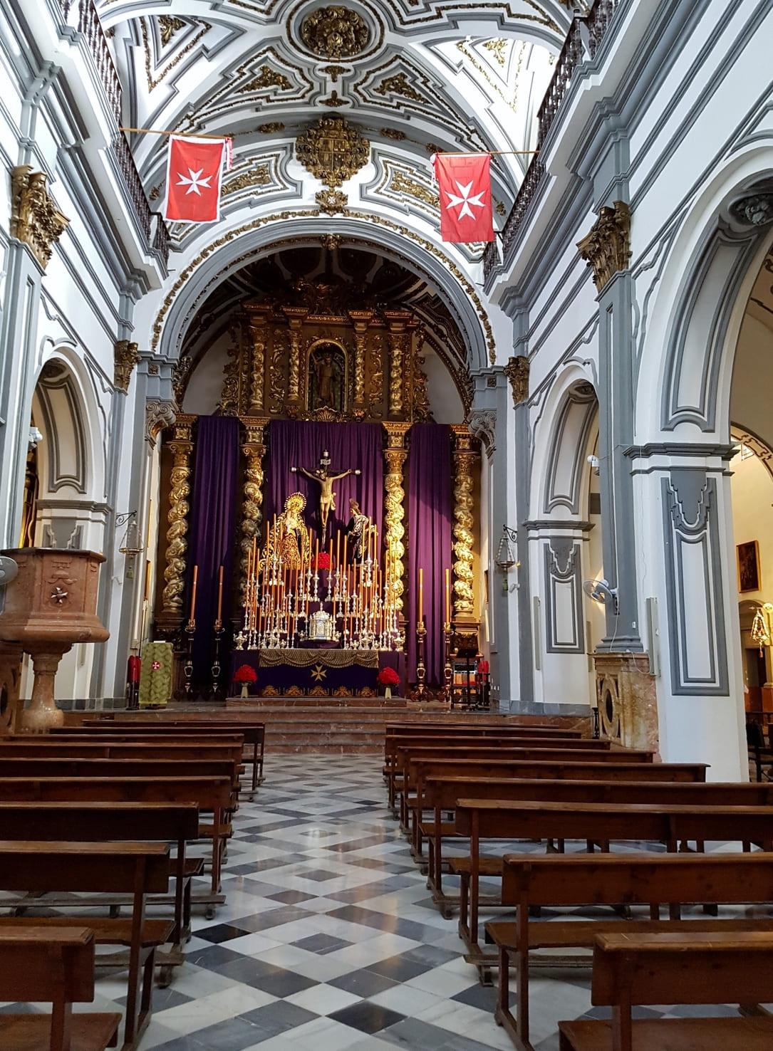 las iglesias mas bonitas de malaga