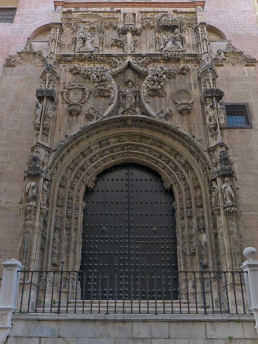 fachada de la iglesia del sagrario