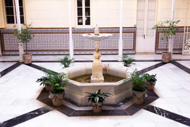 Fountain Botanical Garden Málaga