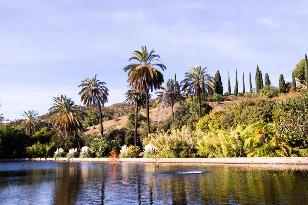 Lake Botanical Garden Málaga