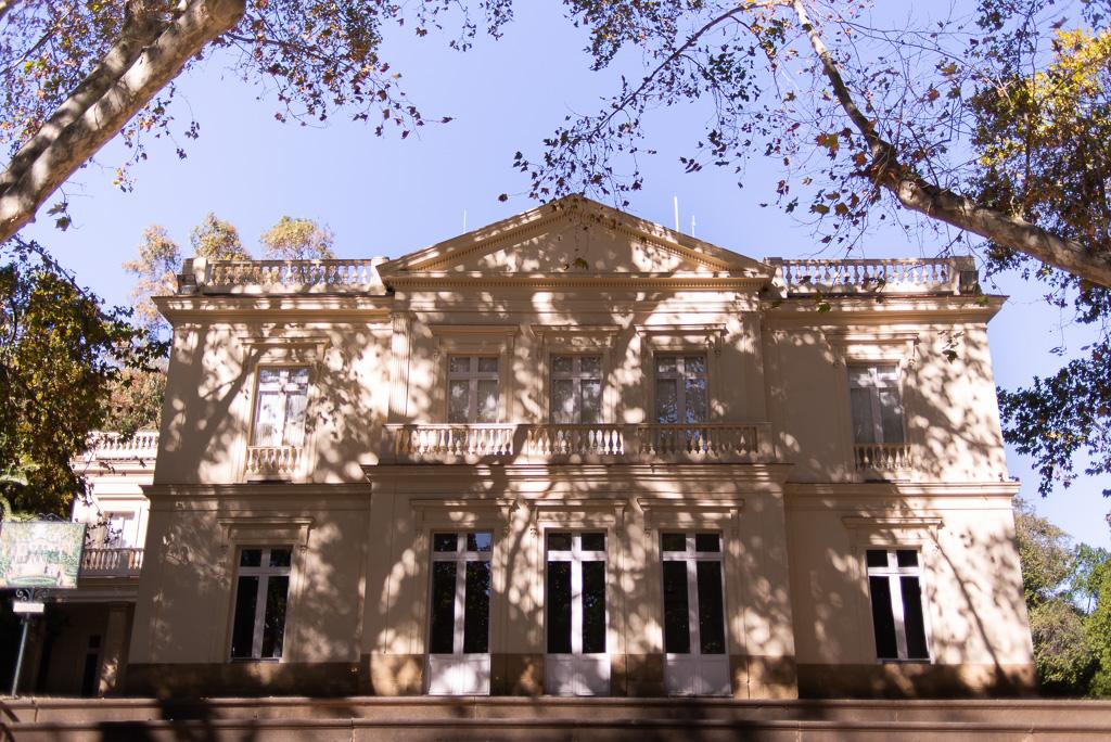 The Stately home Botanical Garden Malaga
