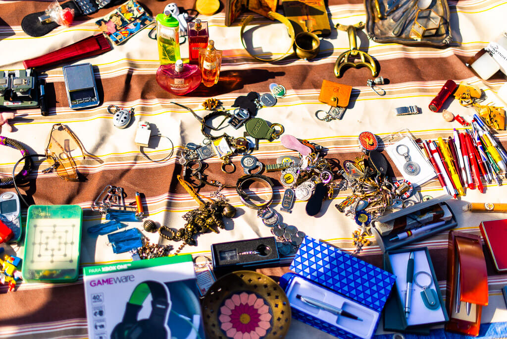 Cortijo de Torres flea market