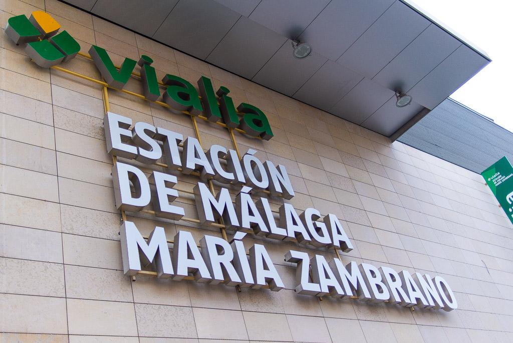 Vialia shopping center in Malaga