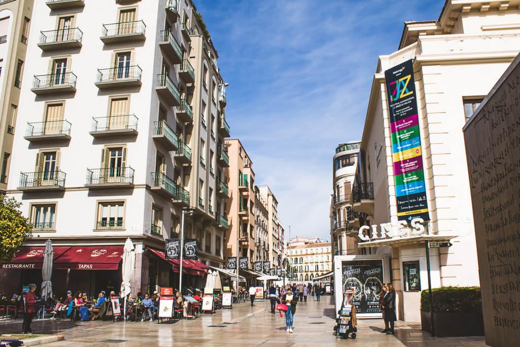 cinema in Malaga