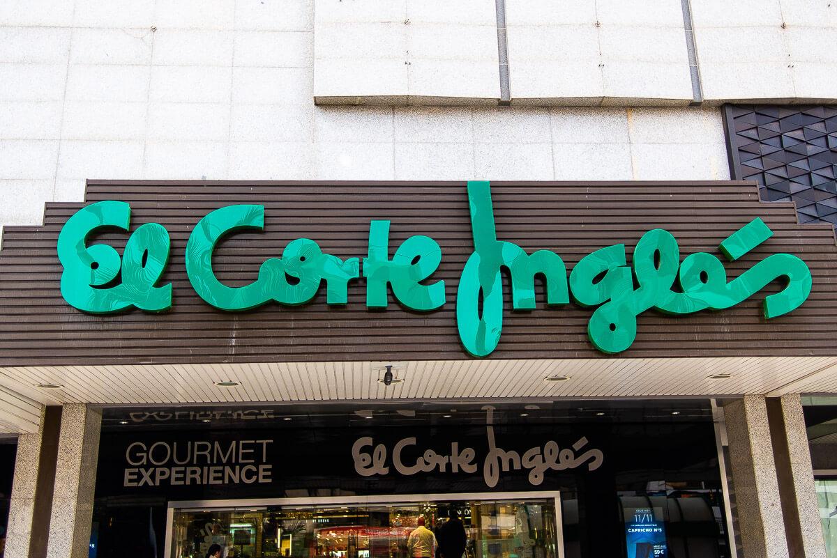 El corte ingles Malaga