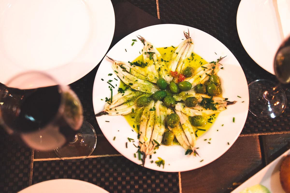 Traditional food Malaga