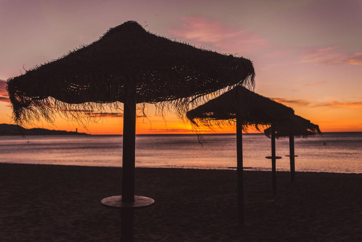 Malagueta beach Malaga