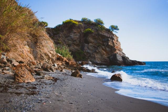 Maro beach Nerja
