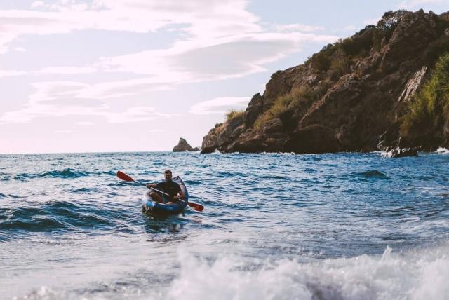 Maro beach kayaking Nerja