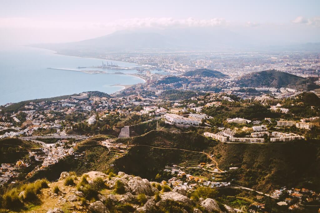 panoramic views Malaga