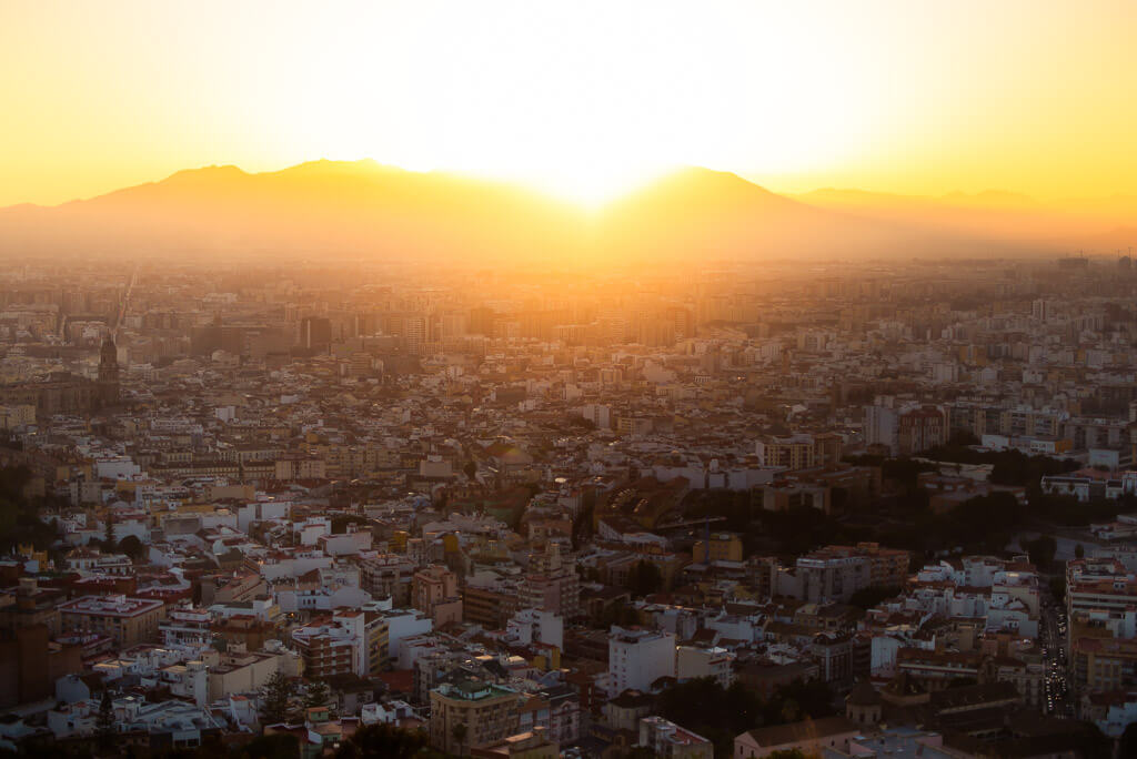 Monte Victoria sunset