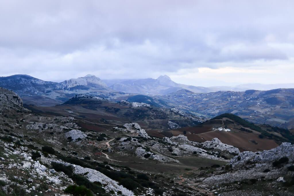 the landscape of El Torcal