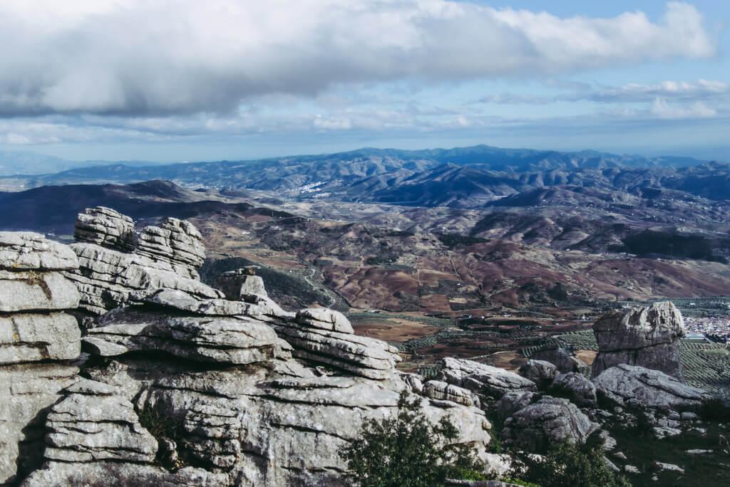 views from El Torcal