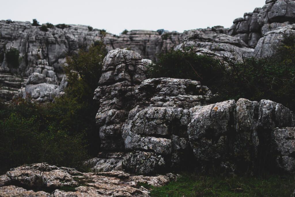 El Torcal de Antequera rocks
