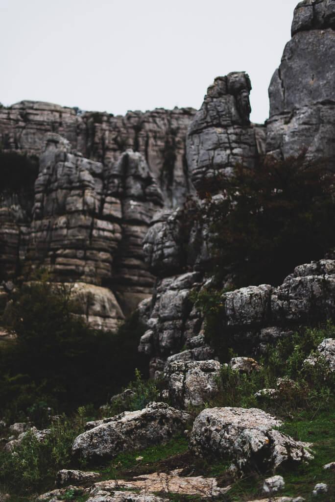 rock formations el torcal