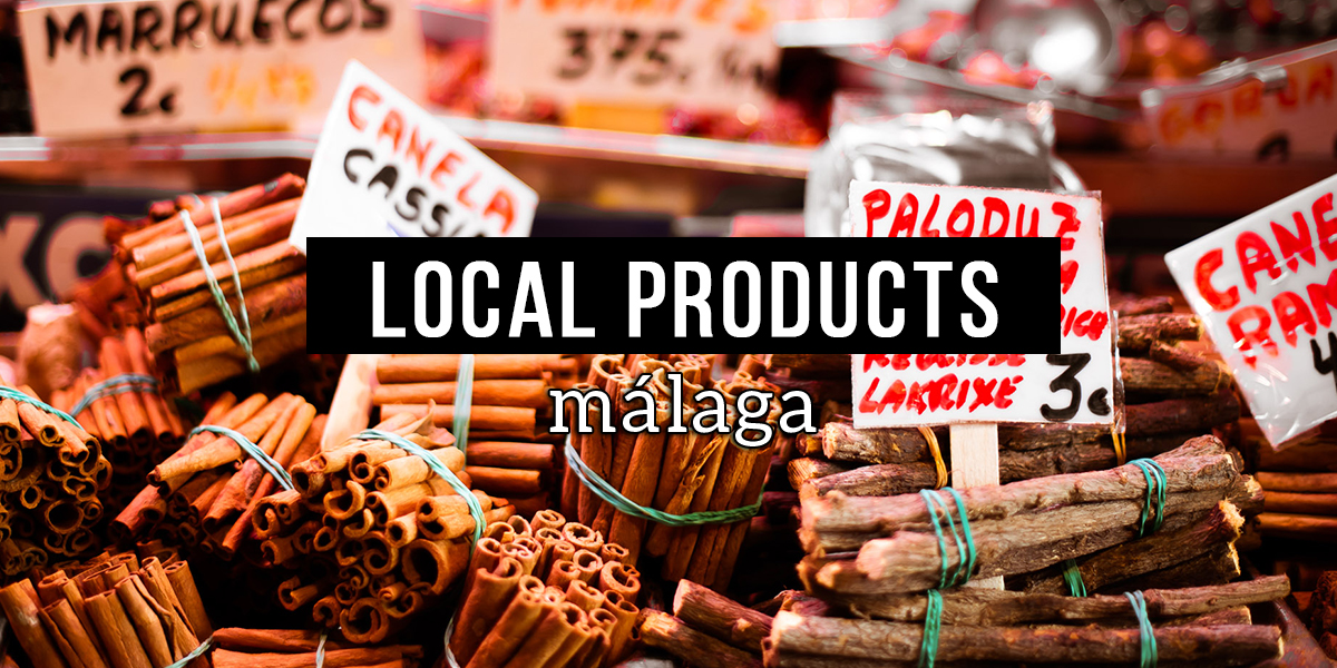 Local products from Malaga