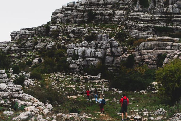hiking torcal