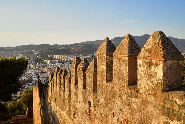 visit gibralfaro castle