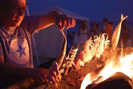 comer en la playa malaga