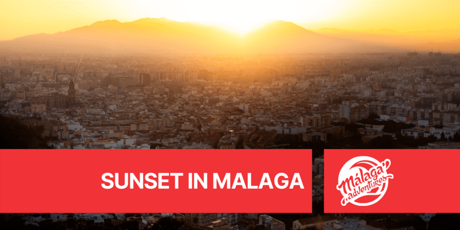 best places to watch a sunset in malaga