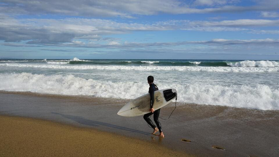 surf en malaga olas