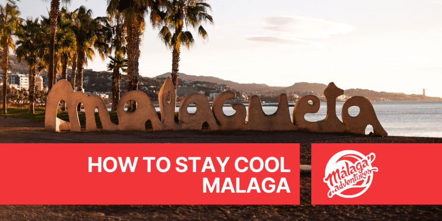 how hot is malaga in april?